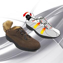 Footcare Италия Ортопедическая повседневная обувь
